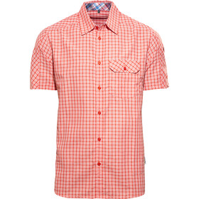 axant Alps Travel Shirt Agion Active Camicia Uomo, red check